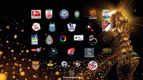LFP FIFA MAnager 18 - logos federations