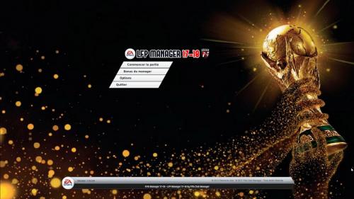LFP FIFA MAnager 18 - Menus